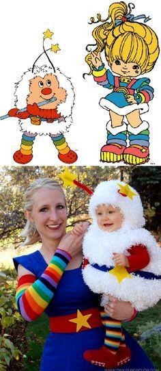 Regina Regenbogen Kostüm selber machen   Kostüm-Idee zu Karneval, Halloween & Fasching