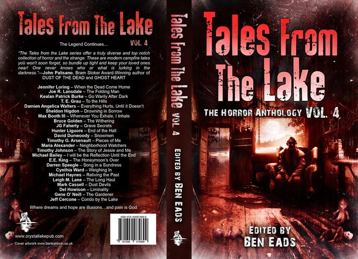 Full cover reveal. Artwork by Ben Baldwin.  The legend continues: http://getbook.at/Lake4