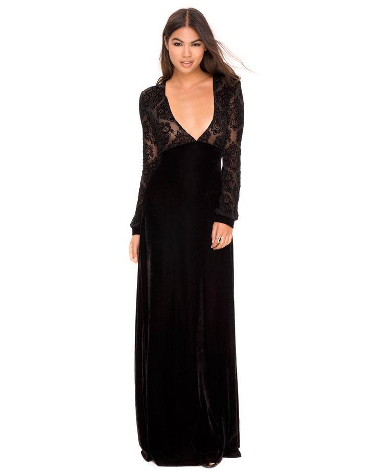 Motel rocks black lace dress
