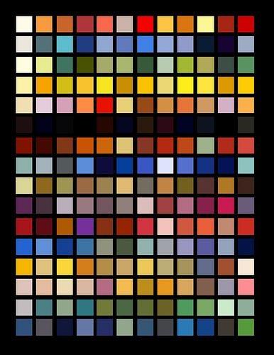 art deco colours