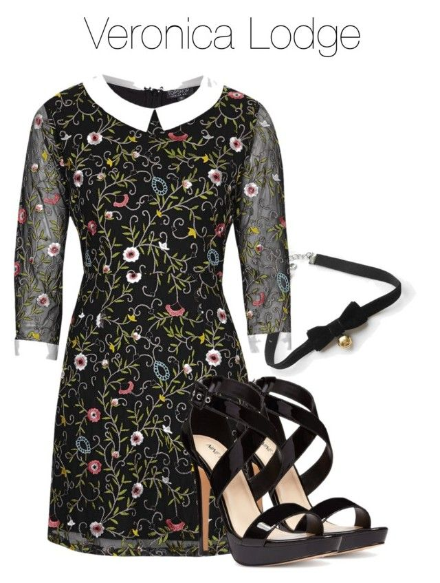 Veronica Lodge - Riverdale by shadyannon on Polyvore featuring polyvore мода style Topshop Nine West COS fashion clothing