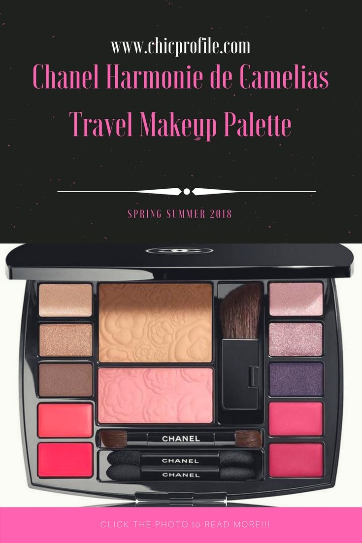 Traveling smart means leaving with the essentials. In an on-the-go spirit, CHANEL composes Harmonie de Camélias, a complete makeup palette for face, eyes and lips, which also contains a mirror, a mini travel mascara and four professional applicators. With its diverse shades, it invites you to create a multitude of looks, from the most natural to the most sophisticated. via @Chicprofile