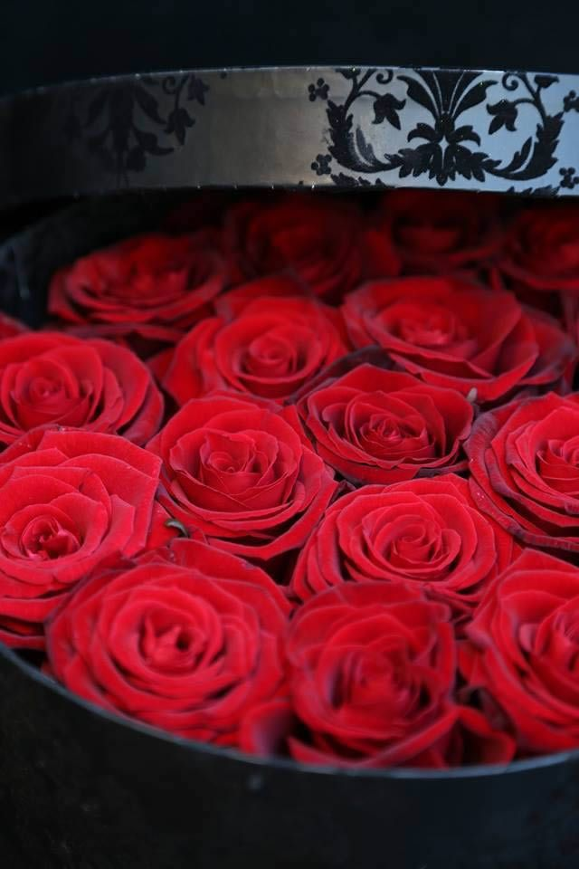 Grand Prix Red Roses In A Hat Box Design For Valentine S Day By