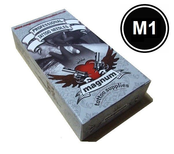 Magnum Shaders (M1) - Mega Mags - From £9.95  #tattooneedles #tattoosupplies #magnumtattoosupplies