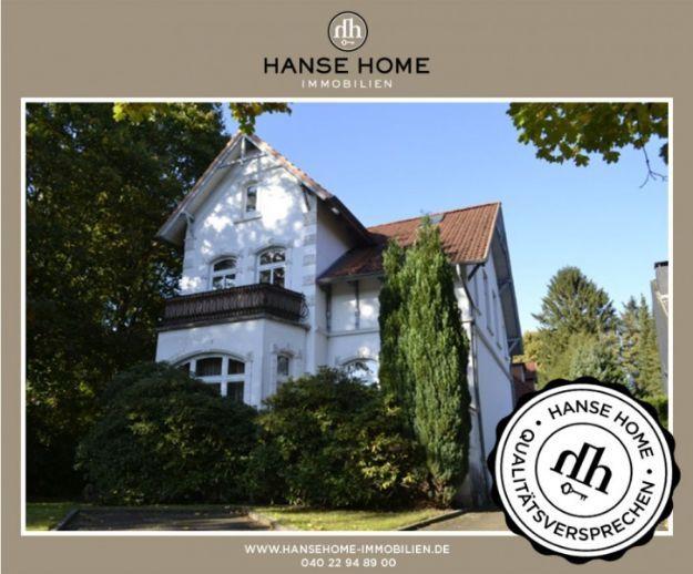 *HANSE HOME Immobilien* Sanierungsbedürftige Jugendstilvilla mit Ausbaureserve in Rahlstedt