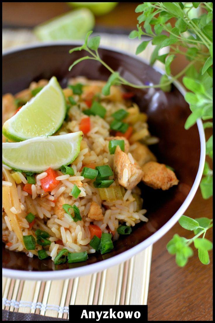 Anyżkowo: Szybki kurczak z ryżem