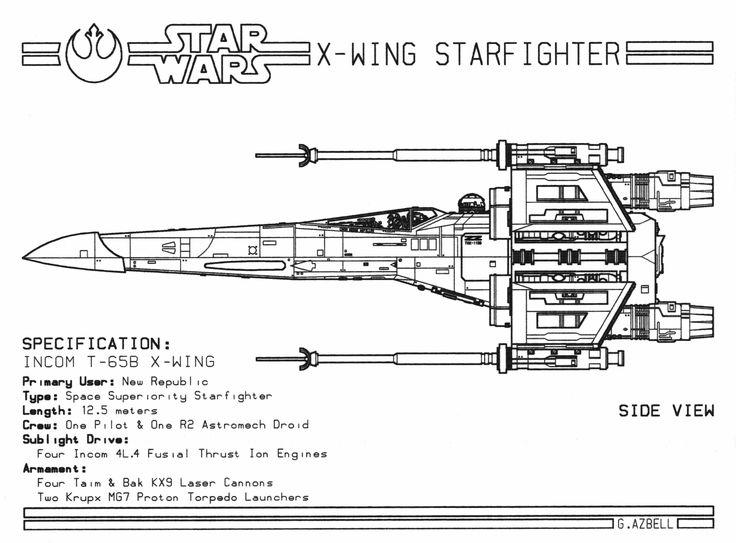 Star Wars Cad Drawings 49
