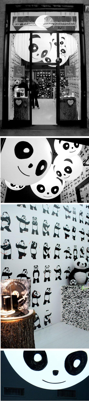 Oh. My. Gosh.  Panda store?!