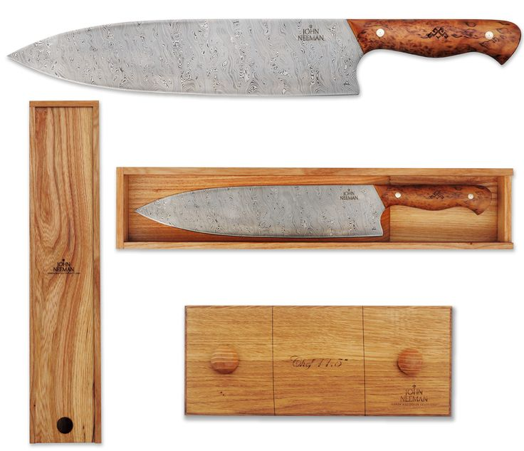 Gorgeous Chef knife by Neeman Tools....a piece of art for those that love cooking!