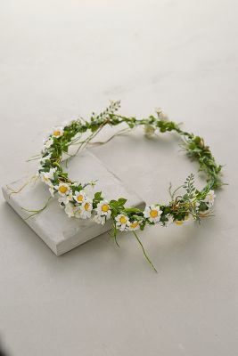 Anthropologie Paperwhites Floral Crown  anthrofave