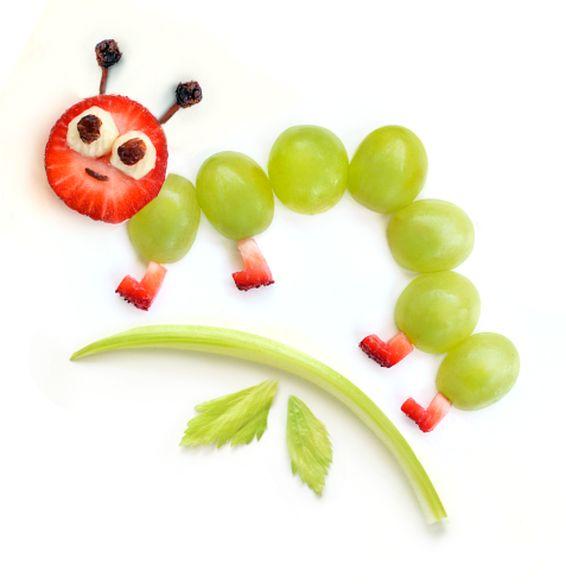 Green Grapes Caterpillar