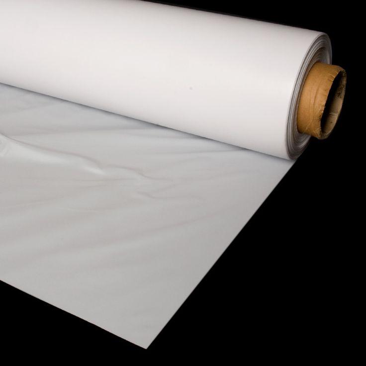 PLÁSTICO PROTECCIÓN CAMAS - PLÁSTICO BEBÉ Mucha atención a este especial plástico de PVC blanco: sirve tanto como de protector de camas como de económica pantalla para retroproyectar vídeo.