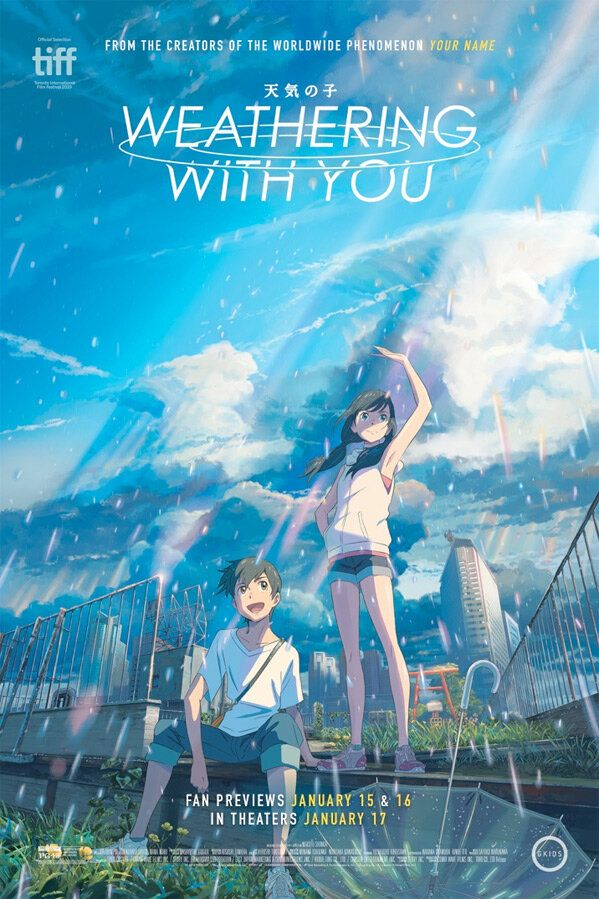 Weathering With You Film Review Your Name Director Affirms His