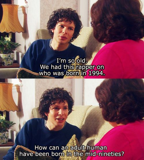How can an adult human have been born in the mid-nineties? - Simon Amstell