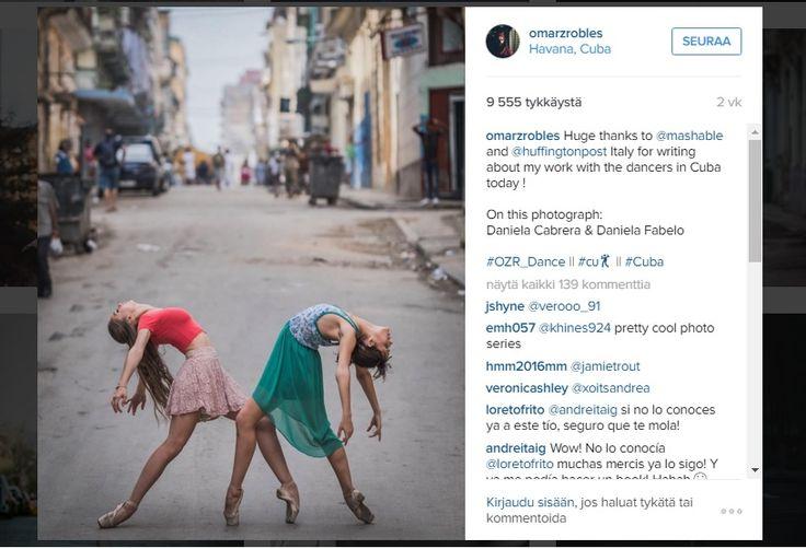 Upeat+kuvat+ikuistavat+Kuuban+taitavat+balettitanssijat+tanssimassa+kaduilla