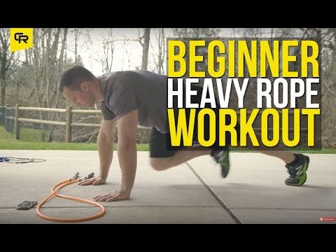 15 Minute Beginner Heavy Jump Rope Workout from Crossrope | Crossrope Jump Rope Training Blog