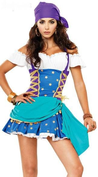ciganaHalloweencostumes, Gypsy Princesses, Gypsy Halloween Costumes, Princesses Costumes, Princesses Halloween, Halloween Costumesidea, Gypsy Costumes, Perfect Costumes, Halter Dresses