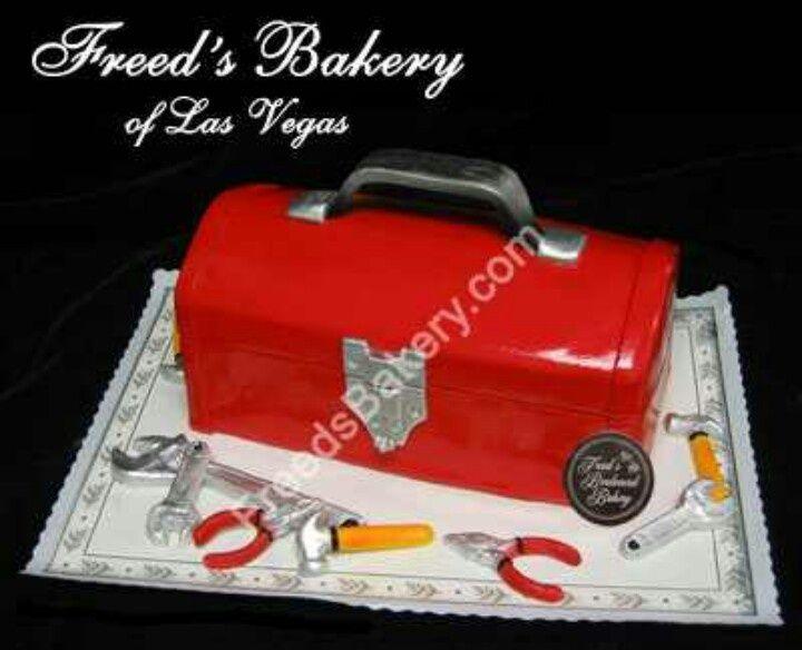 Tool box cake for your mechanic