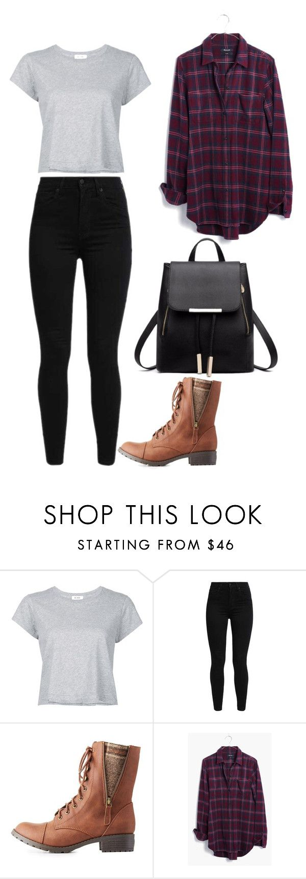 """""""Country Casual"""" by ifrancesconi on Polyvore featuring RE/DONE, Levi's, Charlotte Russe, Madewell and country"""