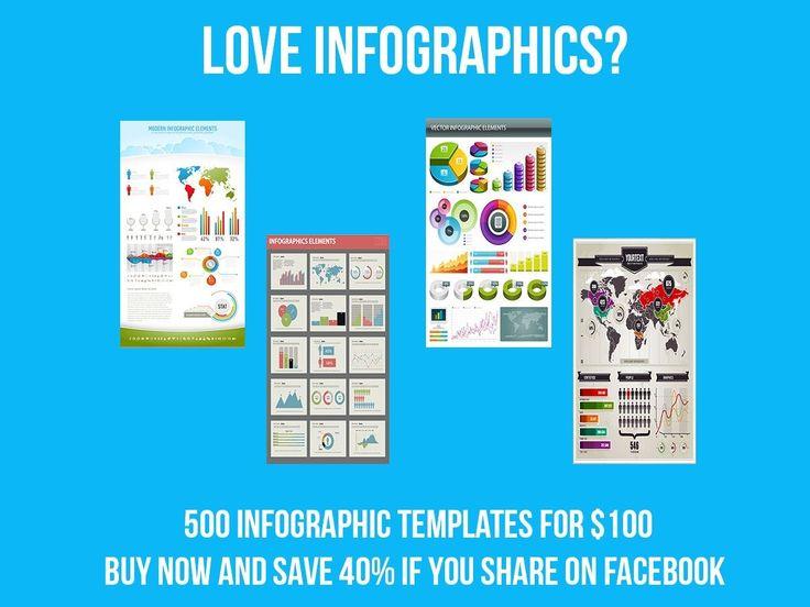 500 Infographic Templates