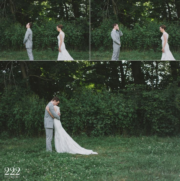 emotional first look 222 photography columbus canton ohio wedding photography