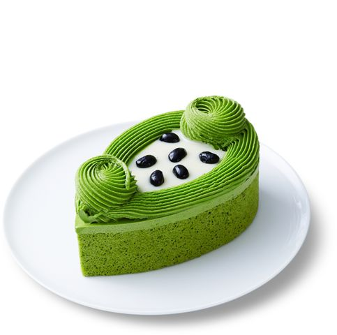 Mini dortík • ze zeleného čaje