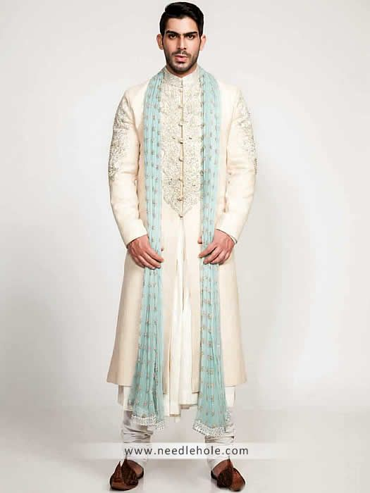Buy #custom #achkan for #men & #groom #sherwani #suit in #Rochdale #Manchester #UK from £150 http://lnk.al/zSy
