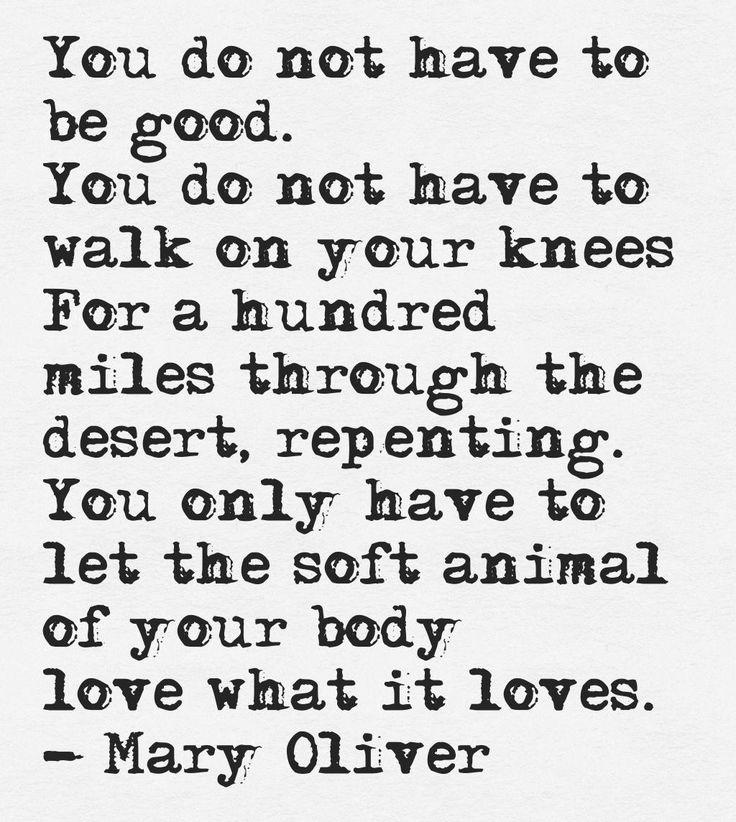 Mary Oliver Love Quotes: De 25+ Bedste Idéer Inden For Mary Oliver På Pinterest