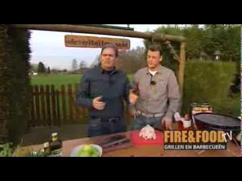 Fire&Food - Kip bereiden zonder deksel op de barbecue