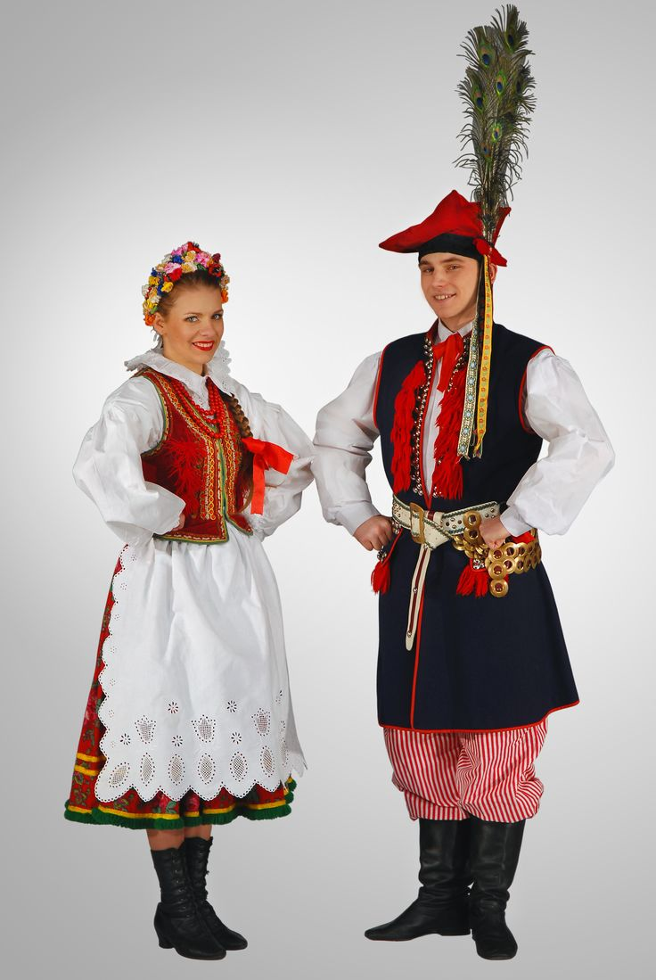 strój krakowski-costume from Krakow region