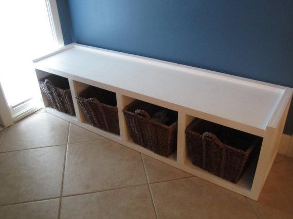 Storage Bench Seat by NauticalFurniture on Etsy, $150.00