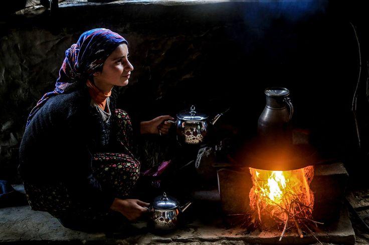 Anadolu'nun sıcak yüzleri… Bitlis - Hizan Fotoğraf: Anadolu Ajansı