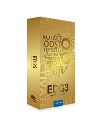 5 reasons to love EDG3 The US-patented amino acid blend in EDG3 is proven to increase glutathione levels in your cells and here's five reasons why that is a really really good thing for your health. 1. Master antioxidant 2. Master immune booster 3. Master detoxifier 4. Skin care from the inside 5. You probably need more of it