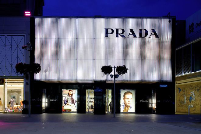 Prada's latest retail tribute to artist Carlos Cruz-Diez | Fashion | Wallpaper* Magazine: design, interiors, architecture, fashion, art