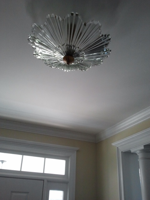 Art Deco Foyer Lighting : Foyer light s art deco fixture it up pinterest