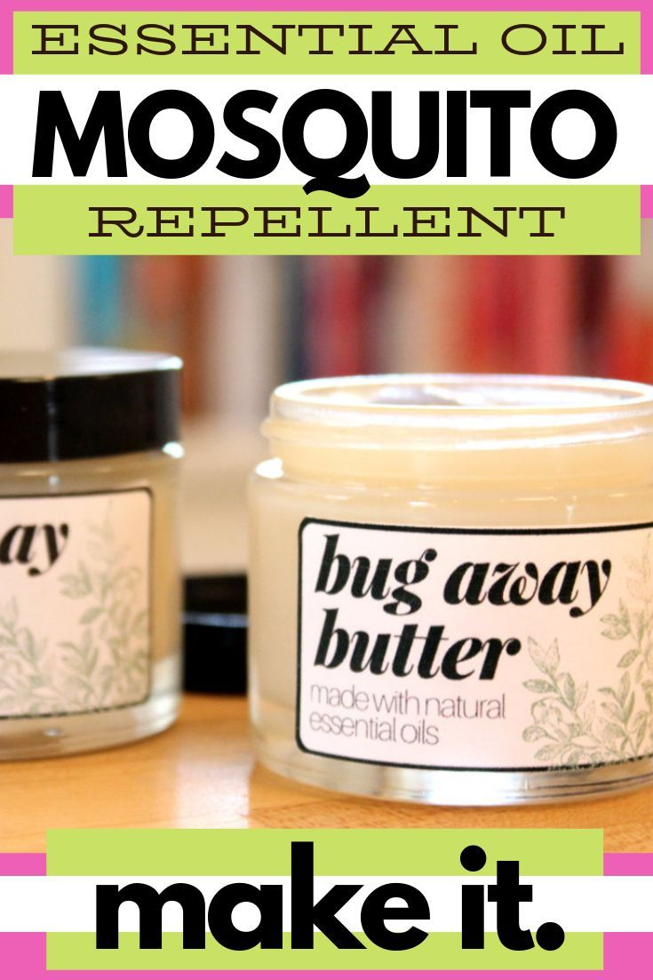 Mosquito Repellent Body Butter Recipe With Essential Oils With