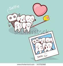 Tooth selfie