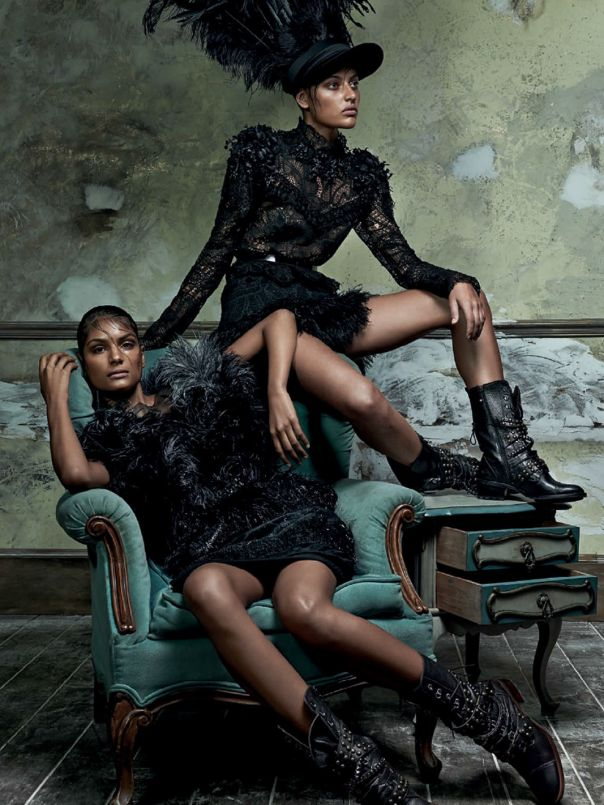 Mariana Santana, Caroline Prates, Andressa Torres by Zee Nunes for Vogue Brazil February 2014 6