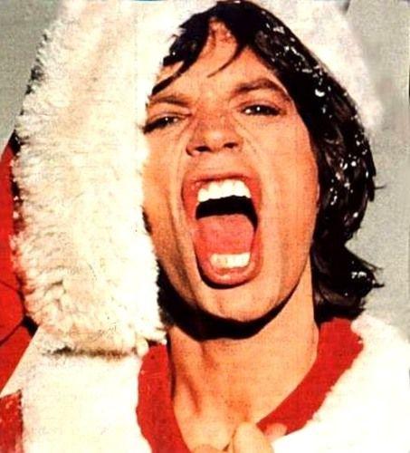 THE ROLLING STONES: MERRY CHRISTMAS - MICK JAGGER COMO PAPA NOEL ...