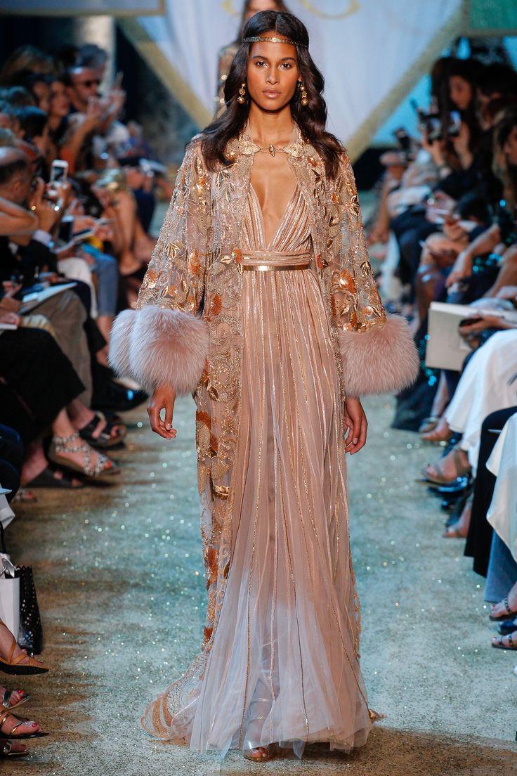 Elie Saab Fall 2017 Couture Fashion Show - Cindy Bruna (Elite)