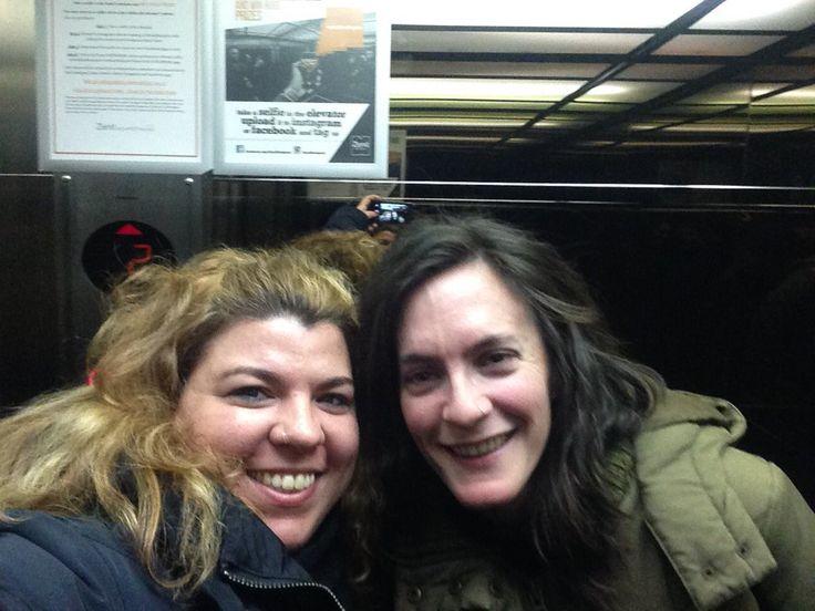 Carmen Serrano @Carmen__Serrano Selfie time @ZenitBudapest @zenithoteles