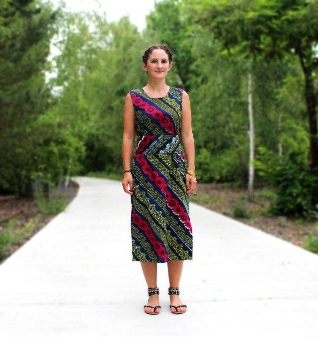 Schnittmuster für Ethno-Kleid