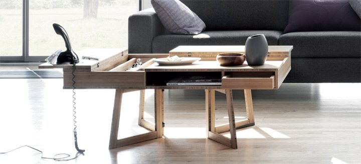 Flip coffee table - Bolia.com