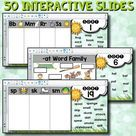 Words Their Way - Letter Name/Alphabetic Spellers - Interactive Word Sorts for SMART Boards! Includes 50 interactive word sorts, PLUS 4 EDITABLE slides to help you customize your word sorts to suit your needs!