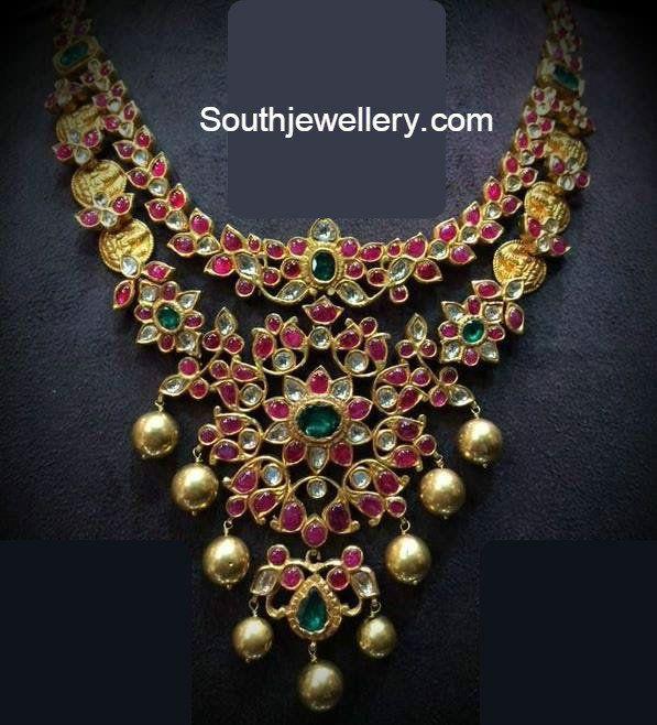 Ruby Kasu Necklace