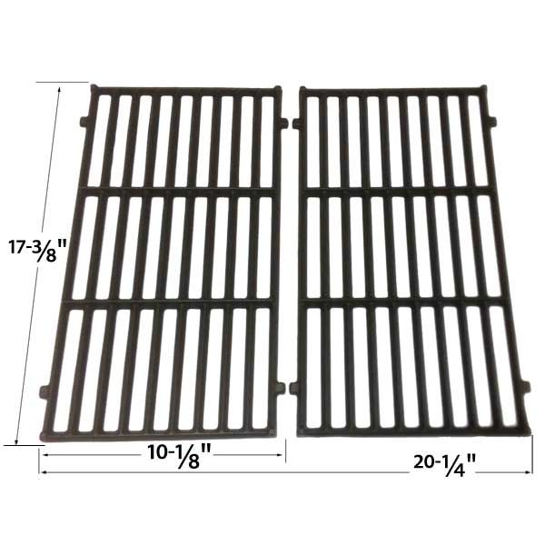 Weber 87637 Cast Iron Cooking Grates For Spirit 200 Series Gas Grills 2 Grates Pack Fits Compatible Weber Models 4 Bbq Grill Parts Cast Iron Cooking Grates