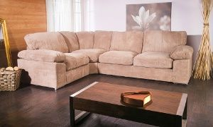Groupon - Oregon Fabric Corner Sofa in Choice of Colours from £569 With Free Delivery (53% Off) in [missing {{location}} value]. Groupon deal price: £569