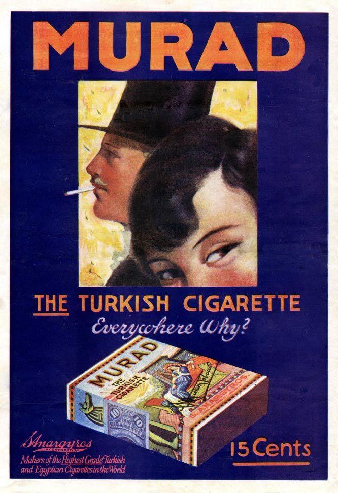Murad Cigarettes -1917G