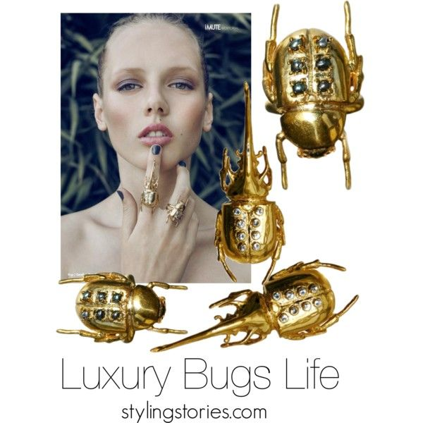 Luxury Bugs Life by Carolina Curado at Styling Stories