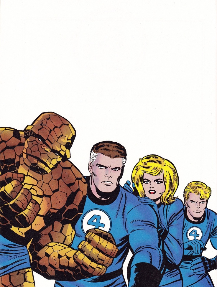 Fantastic 4 Cartoon Characters : Best images about marvel comics on pinterest the